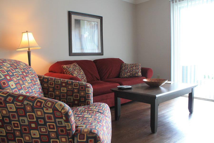 Crescent Centre Living Room