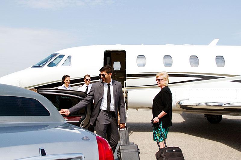 Corporate travel plane